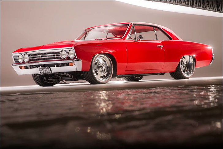 Chopped, Cut, and Rebuilt '67 Chevelle