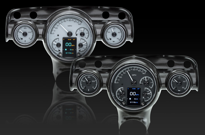 1957 Chevy Car HDX Instruments