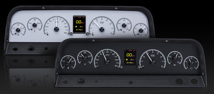 1964- 66 Chevy Pickup HDX Instruments