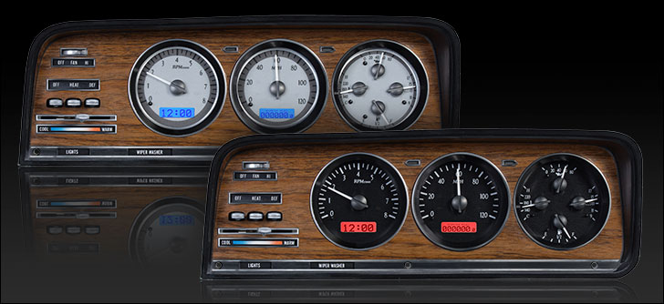 Jeep Digital Gauges : Dakota digital jeep wagoneer gauges vhx j wag