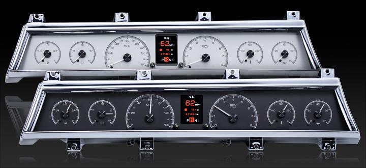 1966- 67 Chevy Chevelle/El Camino HDX Instruments