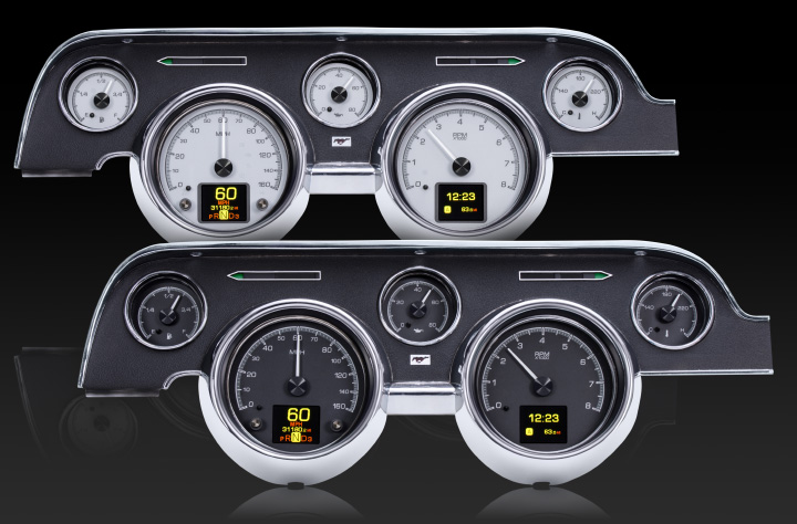1967- 68 Ford Mustang HDX Instruments