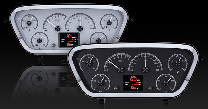 1953- 55 Ford Pickup HDX Instruments