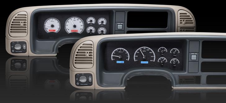 1995 - 1998 Full-size, 1995 - 00 SUV & HD Pickup Chevy/ GMC VHX Instruments