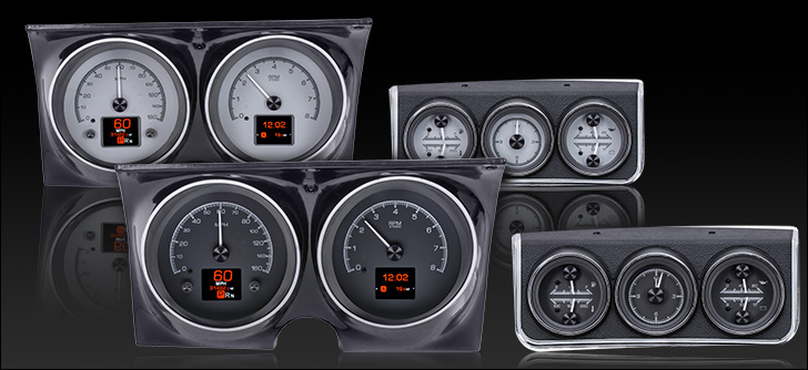 1967 Camaro with Console gauges HDX Instruments