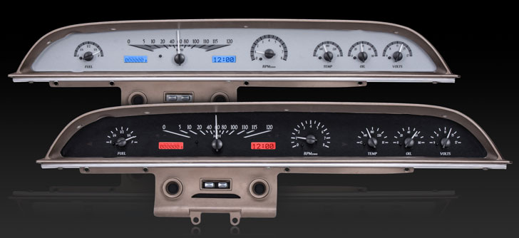 1962 Ford Galaxie VHX Instruments