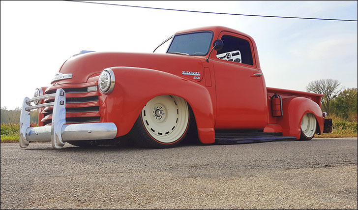 Blake Stoner '49 Chevy Truck
