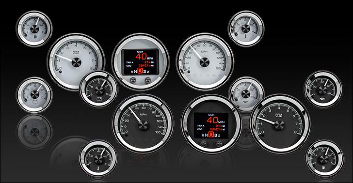 HDX-2070: Universal 7 Gauge Round, Analog  HDX Instruments