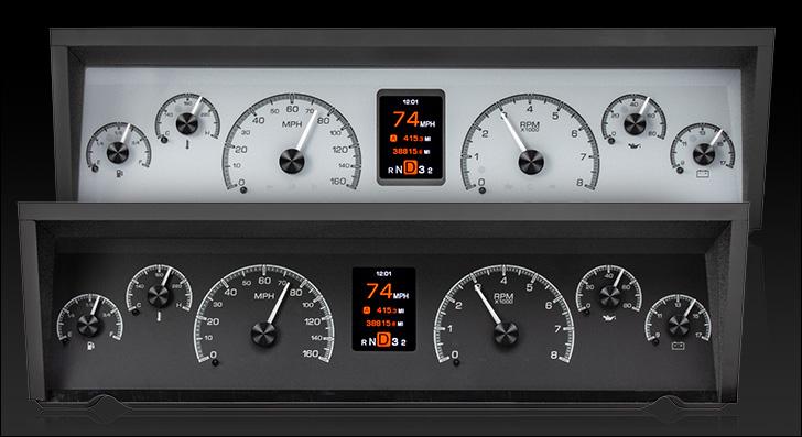1977- 90 Chevy Caprice/ Impala & 1984- 86 Pontiac Parisienne HDX Instruments
