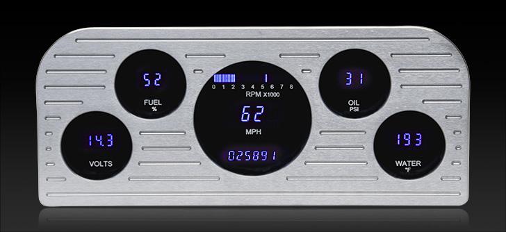 1937 - 1938 Ford Digital Instrument System