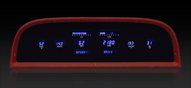 1960- 63 Chevy Pickup Digital Instrument System