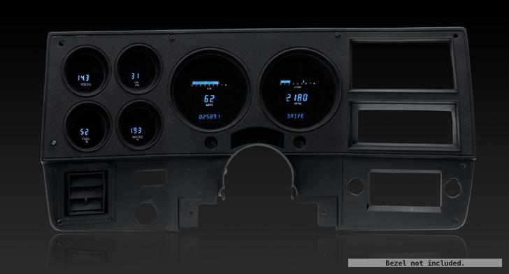 1987 Chevy Truck Digital Dash