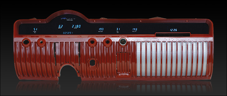 1950 - 1951 Mercury Digital Instrument System