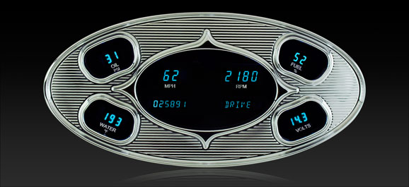 RET-2000: 5- Hole RetroTech Digital Instrument System