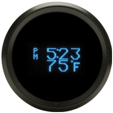 "2-1/16"" Digital Clock/ Date/ Temperature"