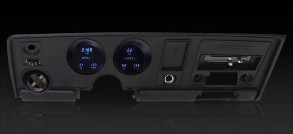 1969 Pontiac Firebird Digital Instruments