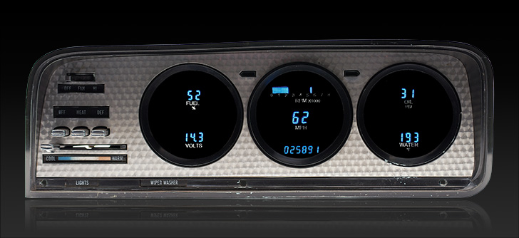 1973- 85 Jeep Wagoneer/ J-Trucks Digital Instrument System