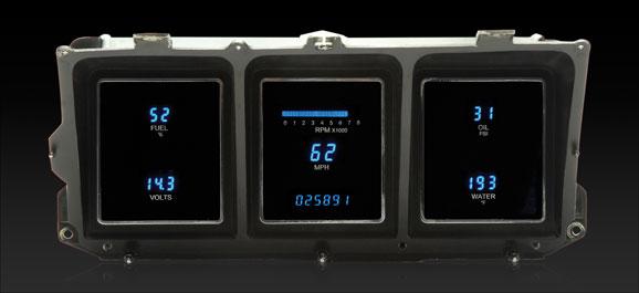 1973- 79 ford pickup, 78- 79 bronco and 78- 89 e- van digital instrument  system