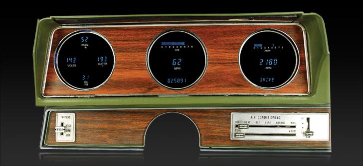 1970- 72 Oldsmobile Cutlass and 442 Digital Instrument System
