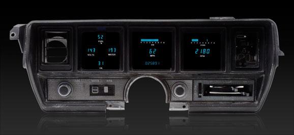 1970- 72 Buick Skylark Digital Instrument System