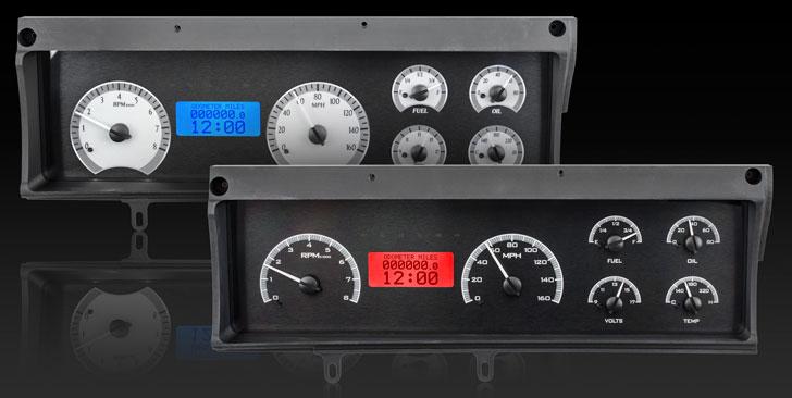 1970- 72 Chevy Malibu/ non SS Chevelle/ El Camino VHX Instruments