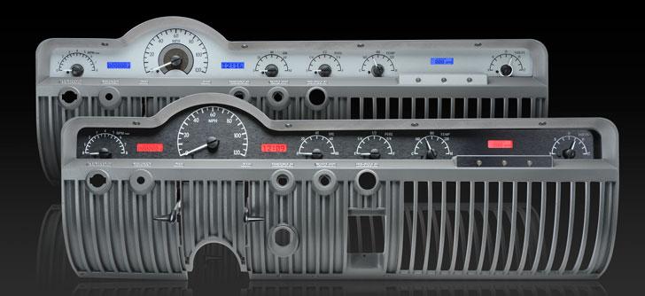 1950-51 Mercury VHX Instruments