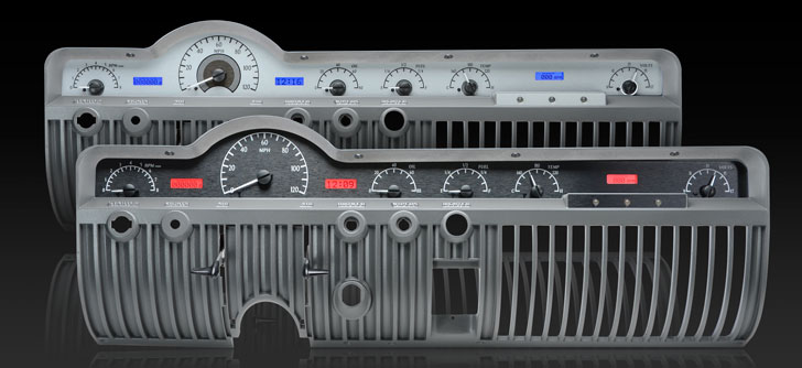 1950- 51 Mercury VHX Instruments