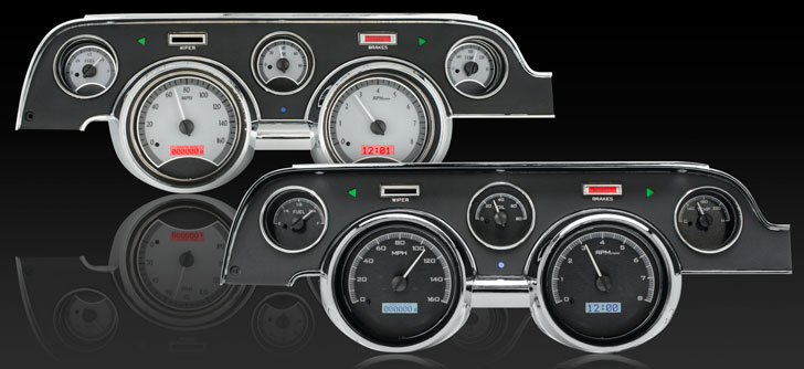 1967- 68 Ford Mustang VHX Instruments
