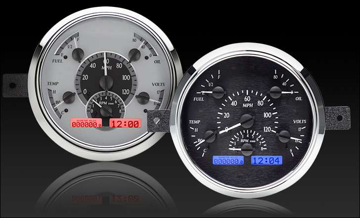 1949- 50 Ford Car VHX Instruments