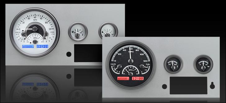 Jeep Digital Gauges : Dakota digital gauges for jeep cj vhx j warr