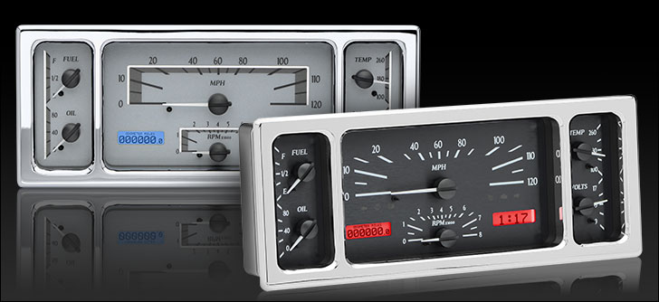 1939 Ford Car VHX Instruments