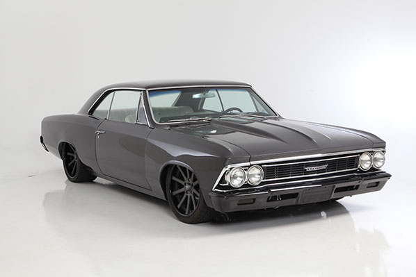 Tim King and TMI Products Inc. Build 1966 Chevelle for SEMA 2012