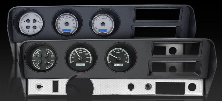 1970-72 Pontiac GTO/ LeMans VHX Instruments