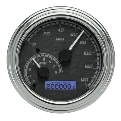 "Harley 4-1/2"" Analog Replacement w/ Direct ECM Plug-In, 2004-2013 Models w/ Tank Mounted Gauge"