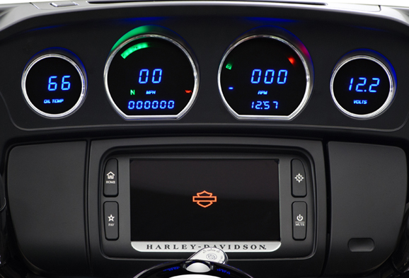2014 and up Replacement Touring Gauges