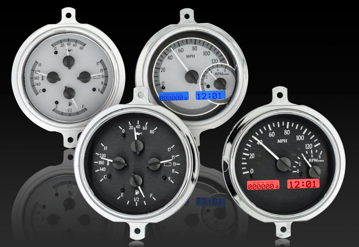 1951- 52 Ford Pickup VHX Instruments