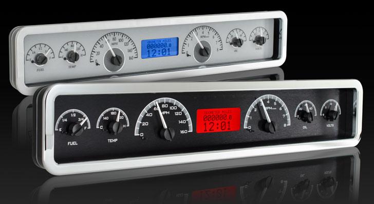 "VHX-1023: Universal 3.75"" x 19.5"" Rectangle, Analog VHX Instrument"