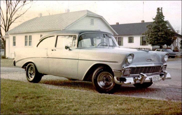 Larrie Matthews' 1956 Chevy