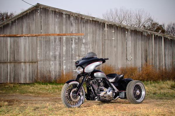 2010 Custom Harley Flhxxx Trike