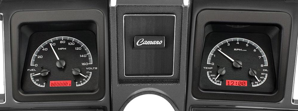 1969 Camaro VHX Instruments