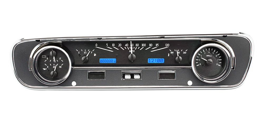 1964 65 Ford Falcon Ranchero And Mustang Vhx Instruments