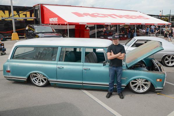 Chevy C10 Power Tour 2013