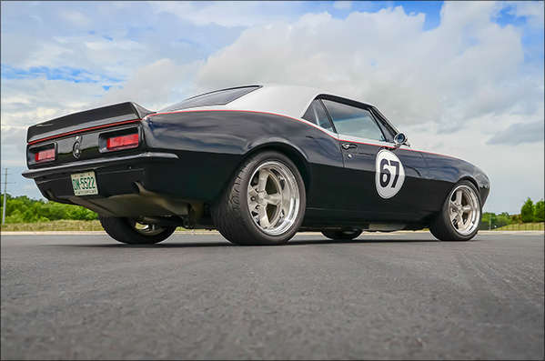 Dynamic: A '67 Camaro that can't be nailed down