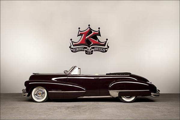 1947 Kindig Cadillac Profile