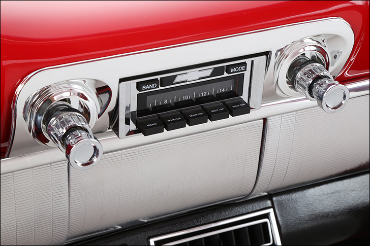 1959 Street Rodder Road Tour Impala Console