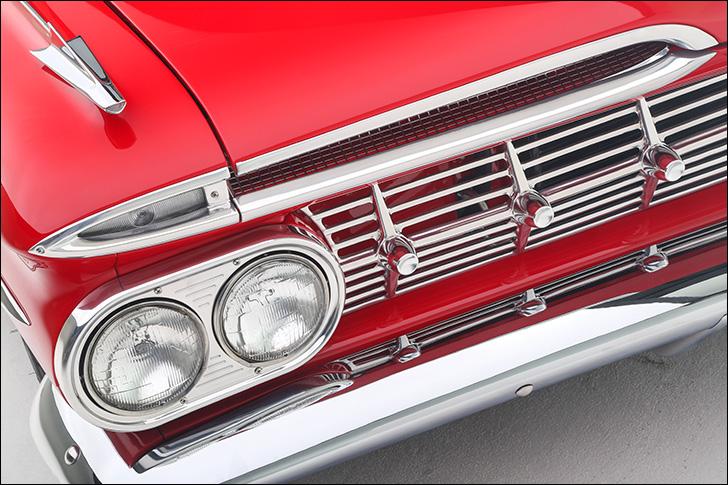 1959 Street Rodder Impala Chrome Grille