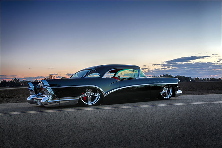Carrillo 1957 Buick suspension and body