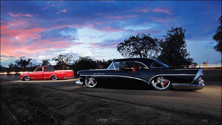 Carrillo 1957 Buick: SEMA Las Vegas 2013