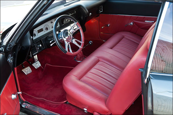 Kindig 1970 Chevelle: J.S. Custom Interior
