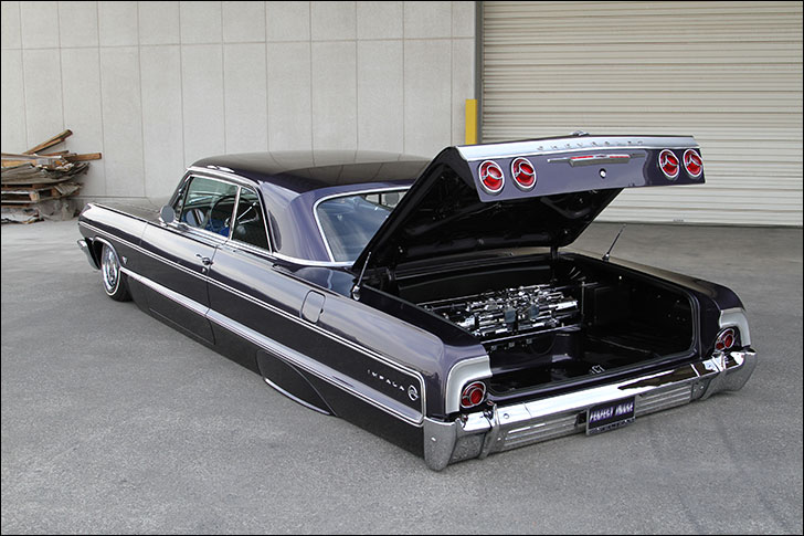 6 Degrees: 64 Impala body modifications